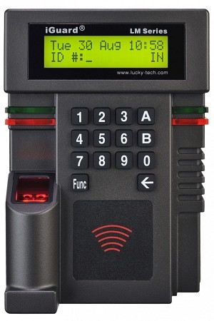 iGuard LM520-FOSC  Fingerprint and/or Smart Card Master or Slave
